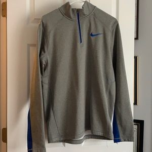 Men's Nike thermal zip